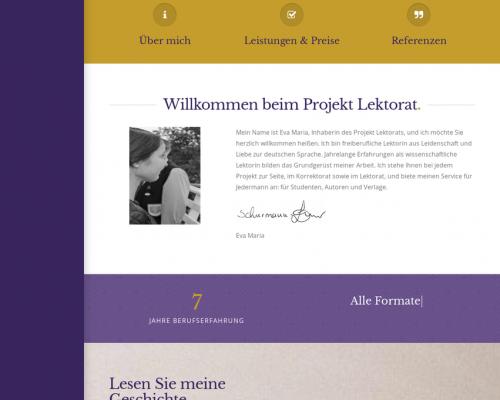 Projekt Lektorat